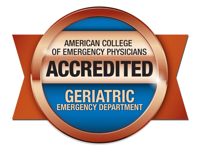 American College of Emergency Physicians Accredited Geriatric Emergency Department